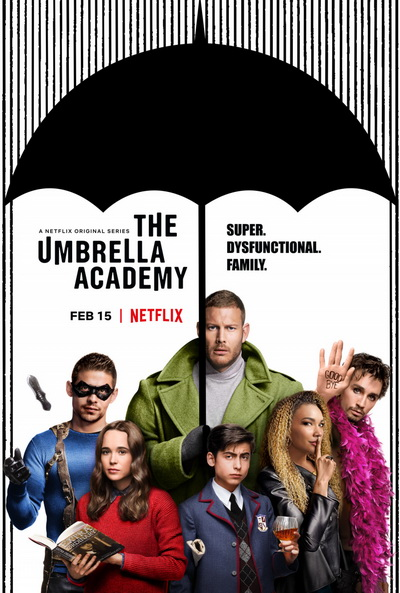 Академия «Амбрелла» (2019) постер