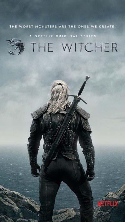 Ведьмак (2019) постер