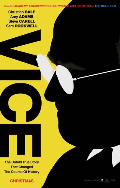 Вице-президент (2018) постер
