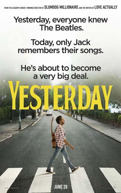 Вчера (2019) постер