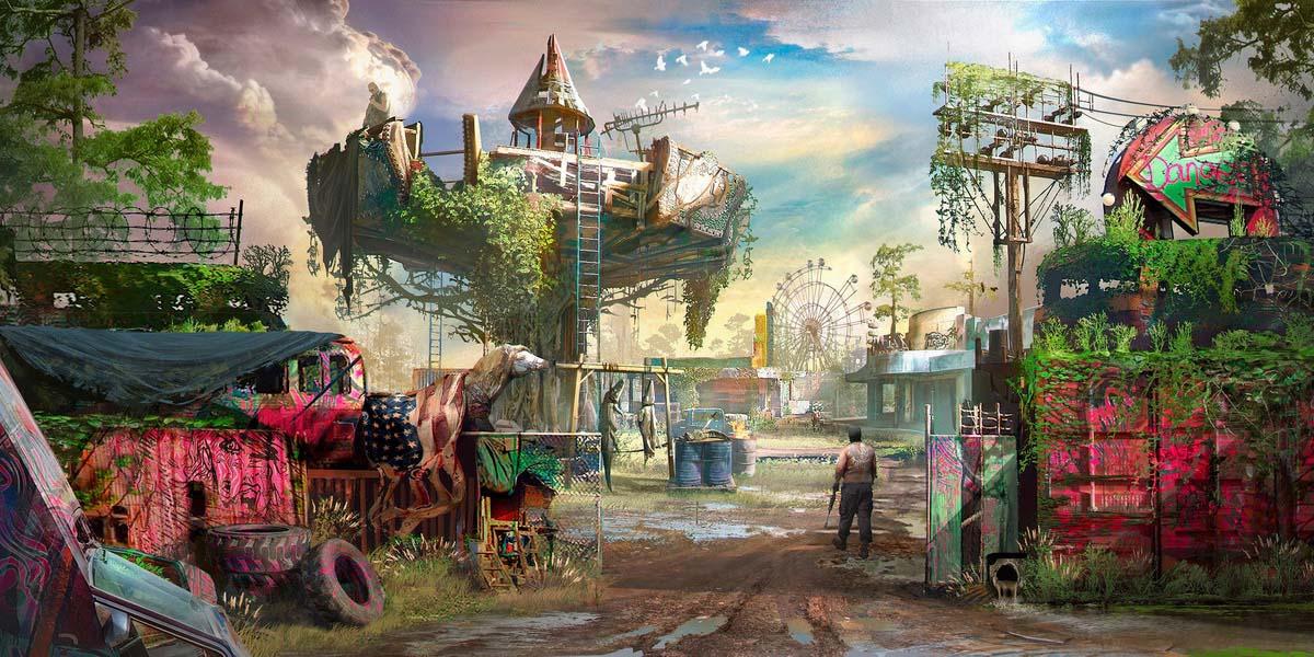 """Игра """"Far Cry New Dawn"""" (2019) Постер"""