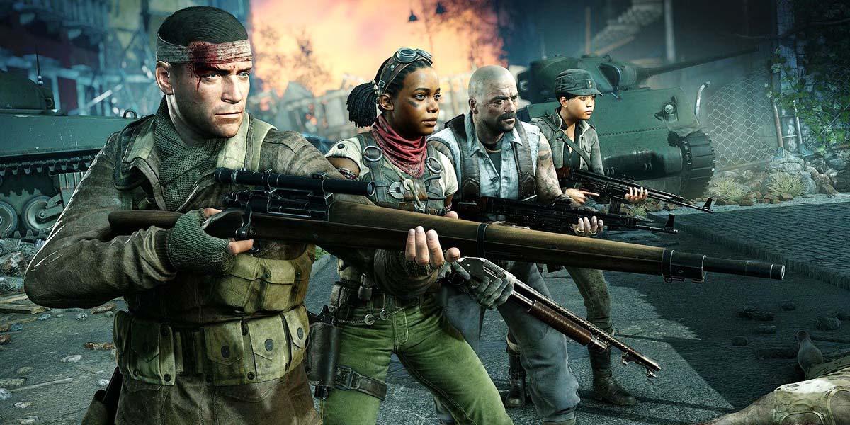 "Игра ""Zombie Army 4: Dead War"" Постер"