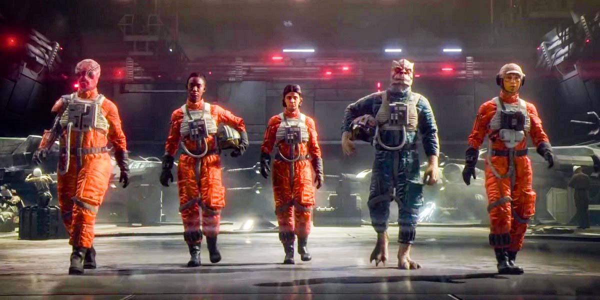 "Игра ""Star Wars: Squadrons"" (2020) Постер"