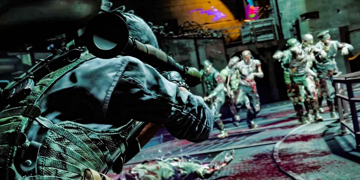 "Игра ""Call of Duty: Black Ops Cold War"" (2020) - Русский трейлер ""Зомби-режима"""