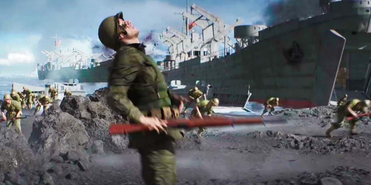 "Игра ""Battlefield 5"" (2018) - Трейлер дополнения ""Война на Тихом океане | War in the Pacific"""