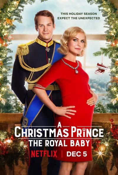 Принц на Рождество: Королевское дитя (2019) постер