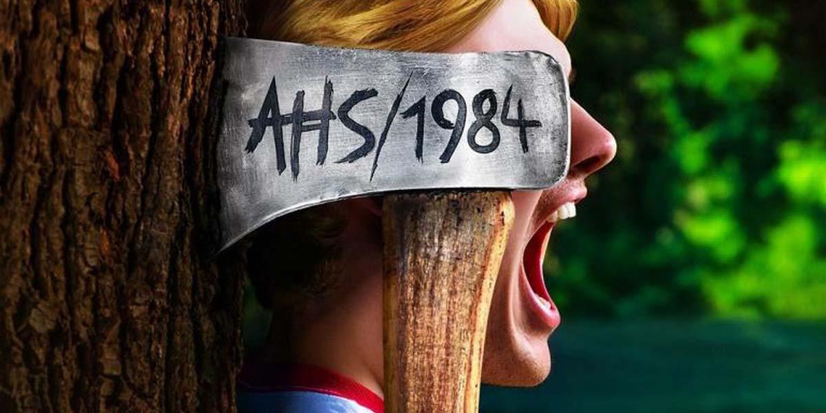 """Сериал """"Американская история ужасов: 1984"""" (9-й сезон) Постер"""