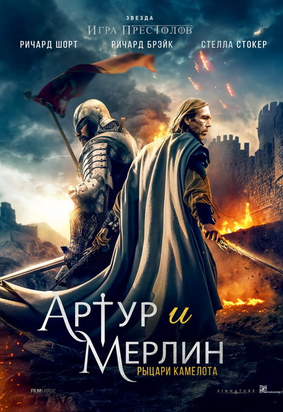 Артур и Мерлин: Рыцари Камелота (2020) постер