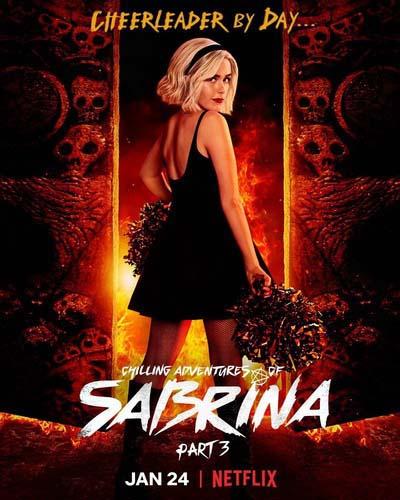 Леденящие душу приключения Сабрины (2020) постер