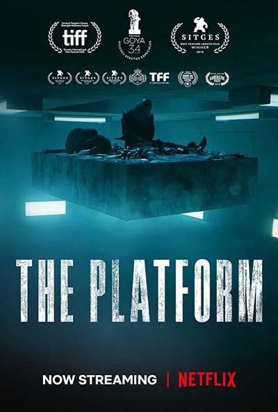 Платформа (2020) постер