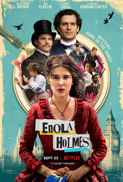 Энола Холмс (2020) постер