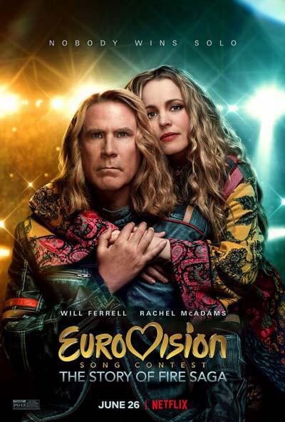 Евровидение: История Огненной саги (2020) постер