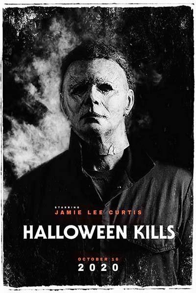 Хэллоуин убивает (2021) постер