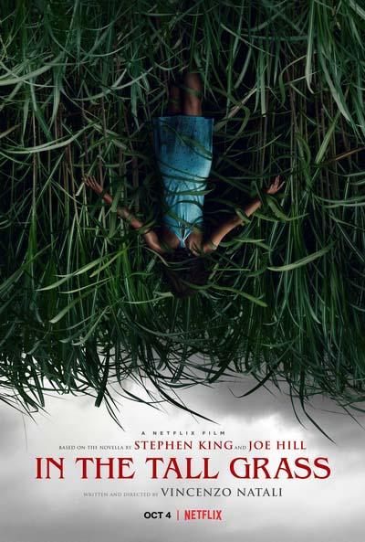 В высокой траве (2019) постер