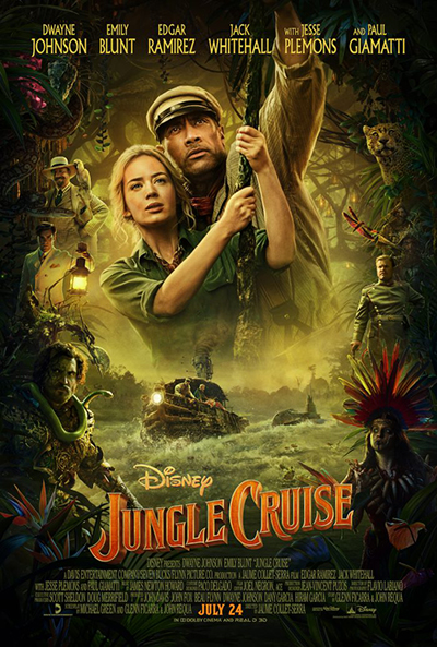 Круиз по джунглям (2021) постер