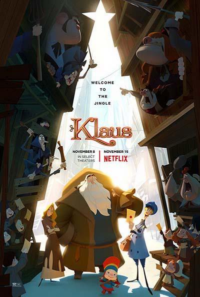 Клаус (2019) постер