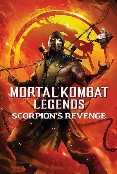Легенды «Смертельной битвы»: Месть Скорпиона (2020) постер