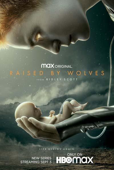 Воспитанные волками (2020) постер