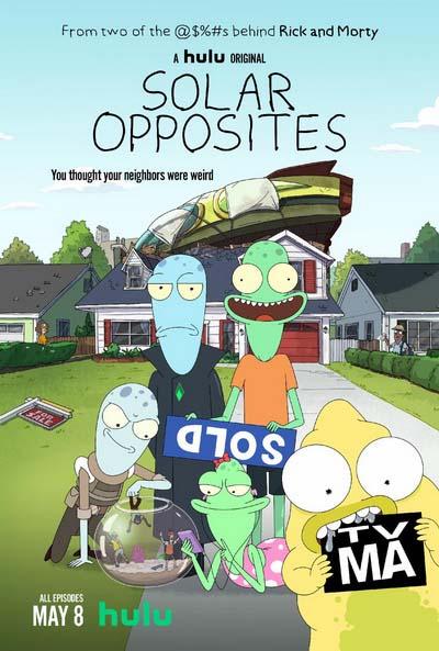 Солнечные противоположности (2020) постер