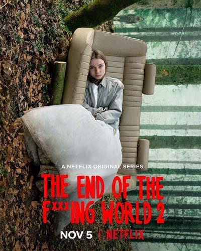 Конец ***го мира (2019) постер