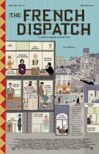 Французский вестник (2020) постер
