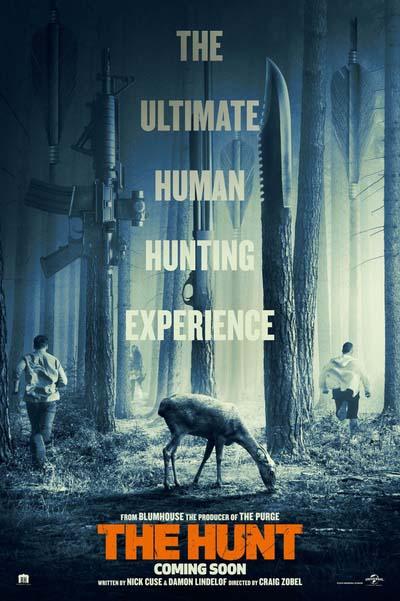 Охота (2020) постер