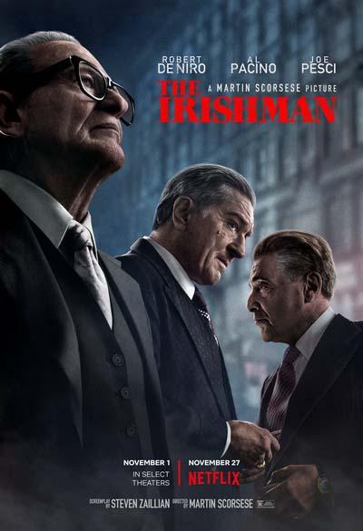 Ирландец (2019) постер