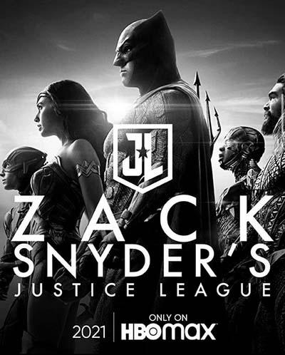 Лига Справедливости Зака Снайдера (2021) постер