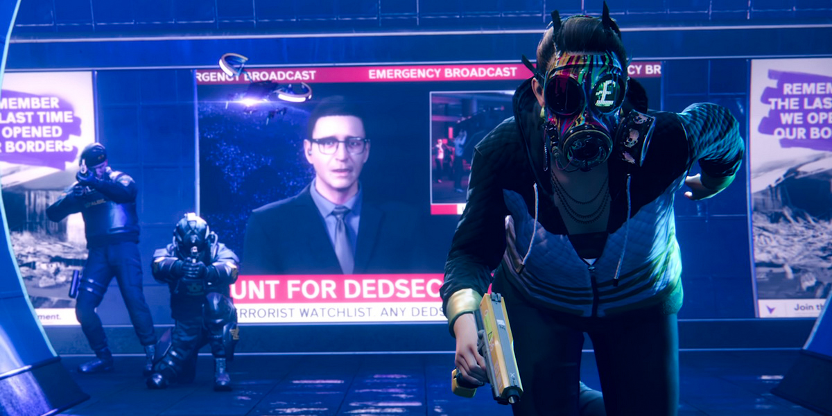 "Игра ""Watch Dogs Legion"" (2020)"