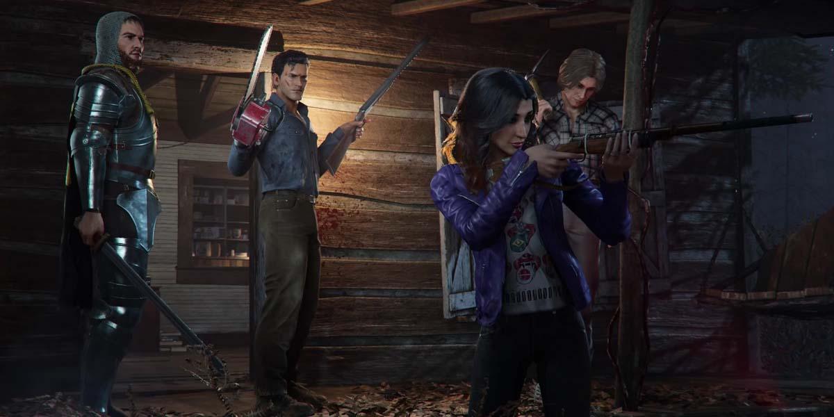 """Игра """"Evil Dead: The Game"""" (2021) Постер"""