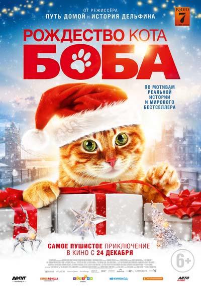 Рождество кота Боба (2020) постер