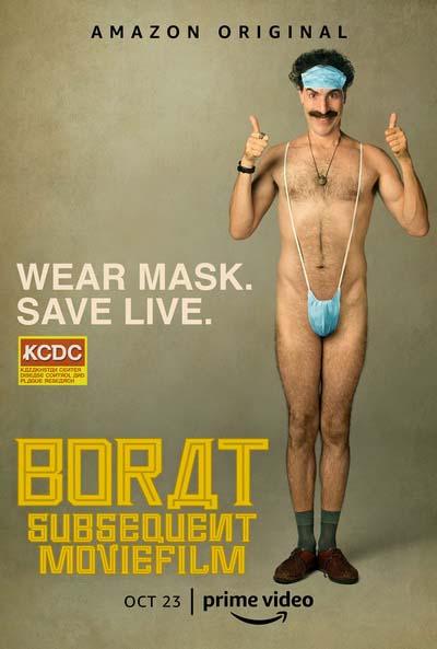 Борат 2 (2020) постер