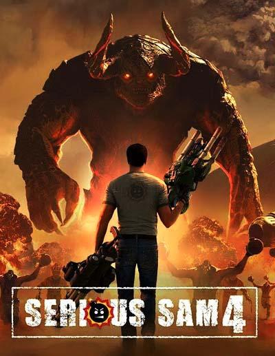 Serious Sam 4 (2020) постер