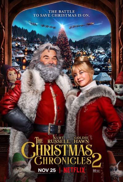 Рождественские хроники 2 (2020) постер