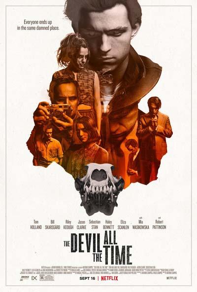 Дьявол всегда здесь (2020) постер