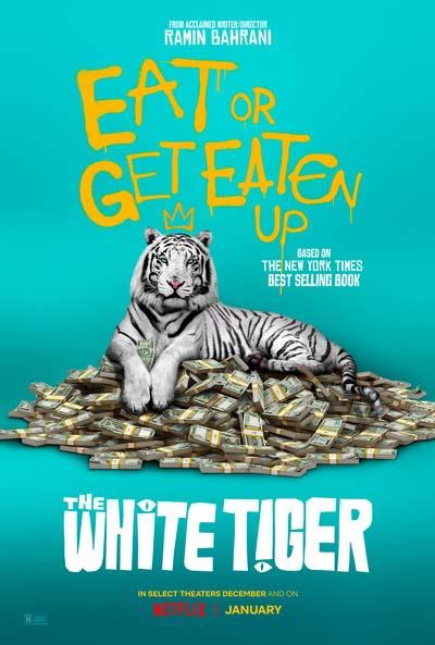 Белый тигр (2021) постер