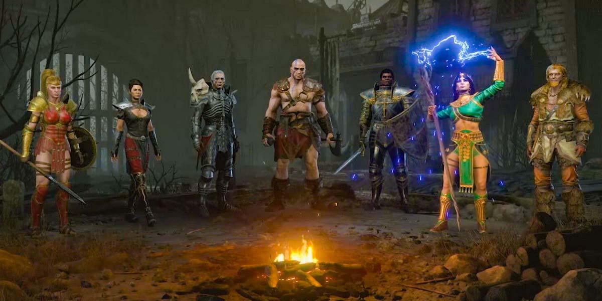 """Игра """"Diablo II: Resurrected"""" (2021) Постер"""