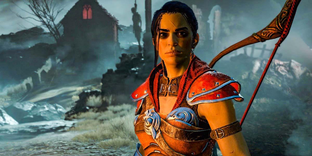 """Игра """"Diablo IV"""" (2021) - Разбойница"""