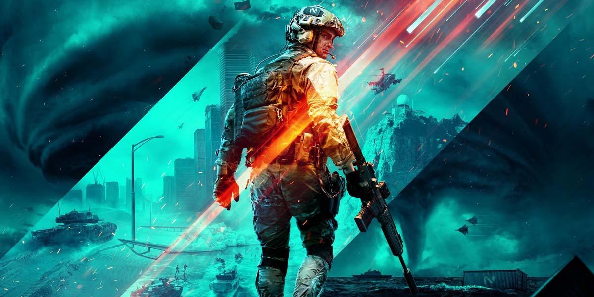 """Игра """"Battlefield 2042"""" (2021) Постер"""