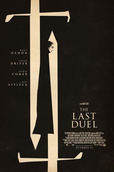 Последняя дуэль (2021) постер