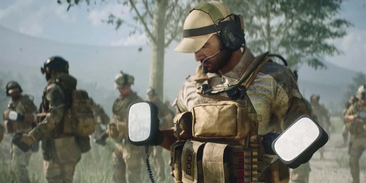 "Игра ""Battlefield 2042"" (2021) – Русский трейлер Battlefield Portal 4K"