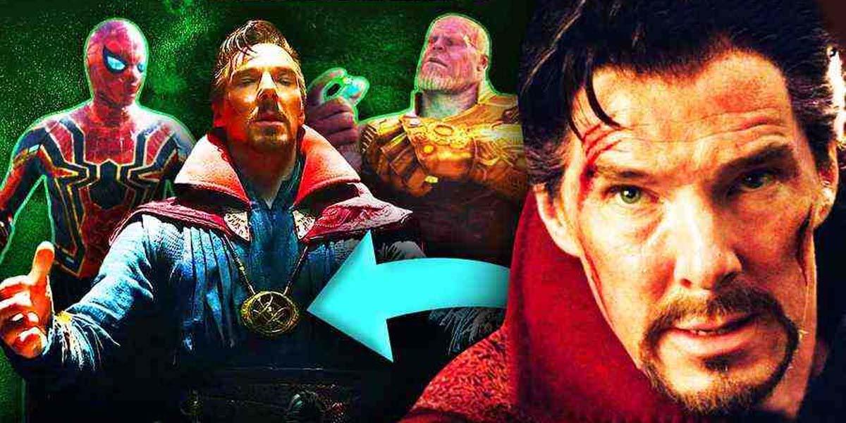 """Теория """"Человека-паука 3"""" объясняет, почему ожерелье Доктора Стрэнджа с камнем бесконечности все еще на нем"""