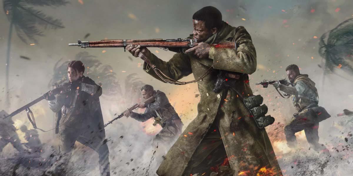 """Игра """"Call of Duty: Vanguard"""" (2021) Постер"""