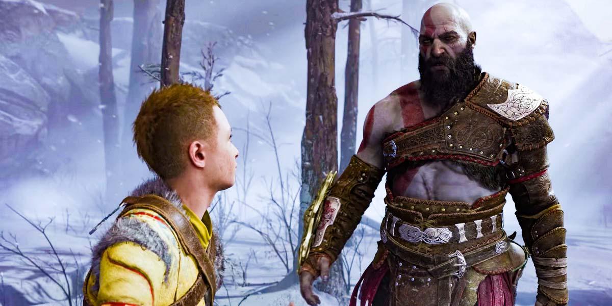 """Игра """"God of War 5: Ragnarok"""" (2022) Постер"""