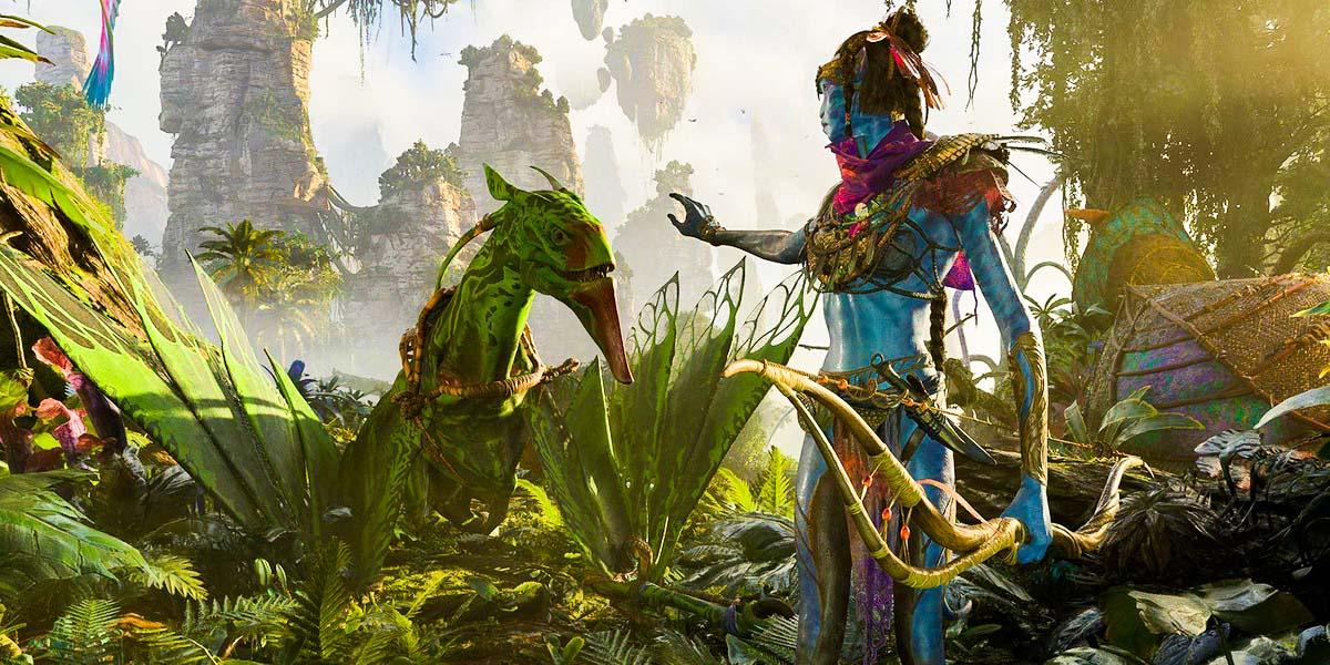 """Игра """"Avatar: Frontiers of Pandora"""" (2022) Постер"""