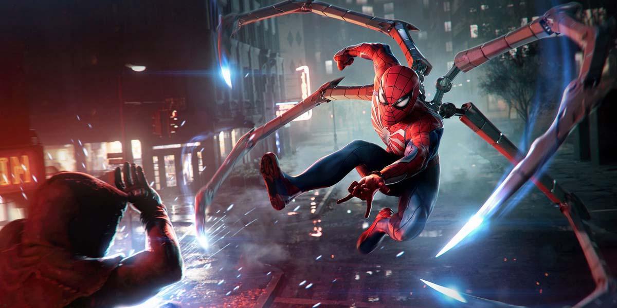 """Игра """"Marvel's Spider-Man 2"""" (2023) Постер"""