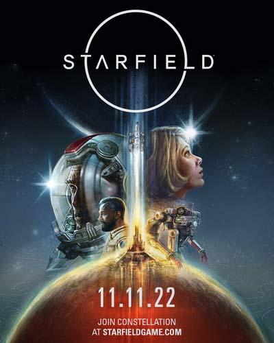 Starfield (2022) постер