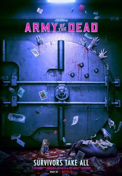 Армия мертвецов (2021) постер
