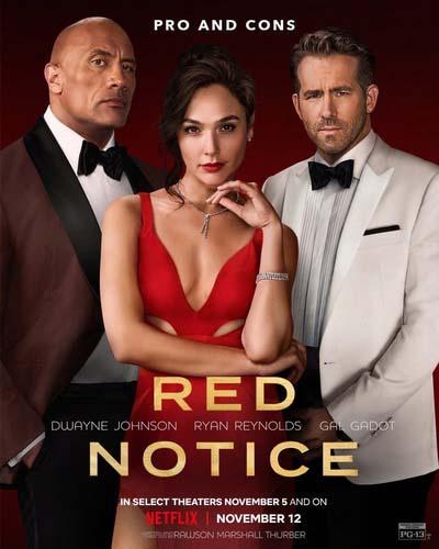 Красное уведомление (2021) постер