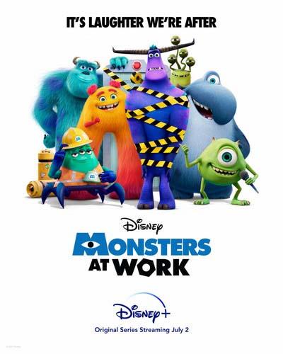 Монстры за работой (2021) постер